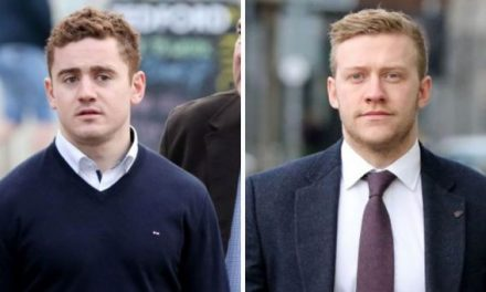 Rape trial of Ireland rugby stars told most victims 'don't fight back' during sexual attacks