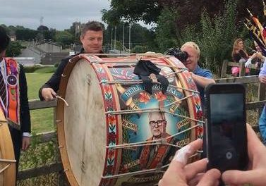 Former Ireland rugby captain Brian O'Driscoll 'proud' after attending Twelfth event