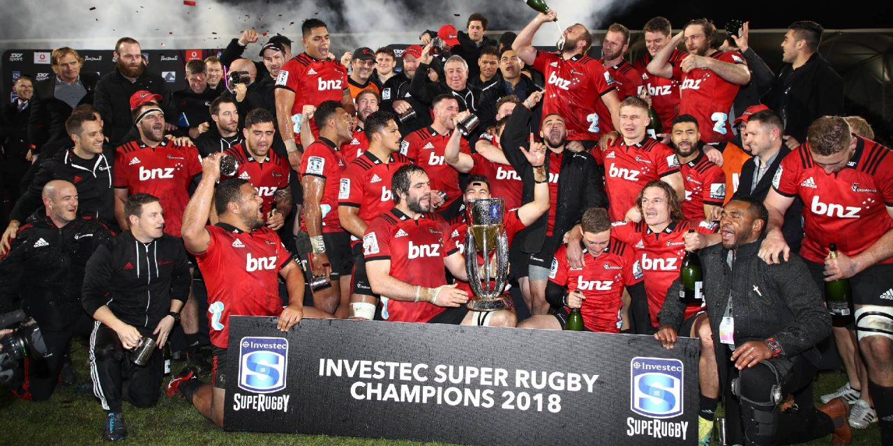 Crusaders coach Scott Robertson gives advice to South African teams on how to win Super Rugby