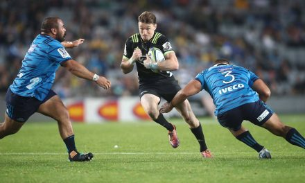 Super switch?: All Blacks star Beauden Barrett could leave Hurricanes for Blues in sensational switch