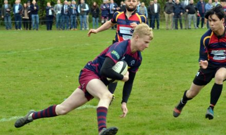RUGBY UNION: Spalding's stunning start and sensational finish