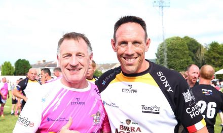 They've still got it! Wales rugby legends prove their brilliance again by shining bright in Paul James testimonial match – Wales Online