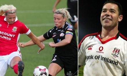 Former Ireland rugby star helping Linfield Ladies prepare for Champions League test