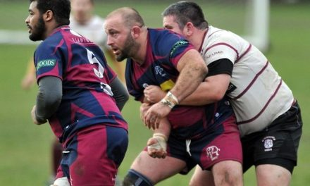 RUGBY UNION: League leaders hit back for Spalding's first home defeat