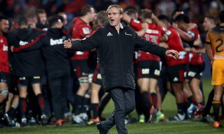 Crusaders coach Scott Robertson 'optimistic' ahead of All Blacks interview