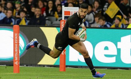 Rieko Ioane's plan to get back into the All Blacks starting XV