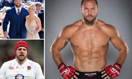 James Haskell stuns fans by signing for MMA promotion Bellator as ex-England rugby star makes switch to cage