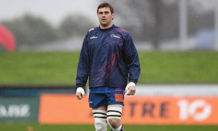 'He's good enough to be at the World Cup': Liam Squire backed to win re-call into All Blacks