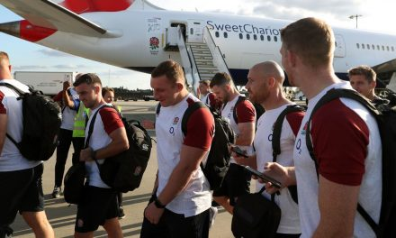 England rugby team stranded in Japan for five hours as Rugby World Cup gets off to nightmare start – Wales Online