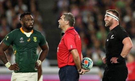 Rugby World Cup 2019: All Blacks' 'off-the-ball play against spirit of the game' | Stuff.co.nz