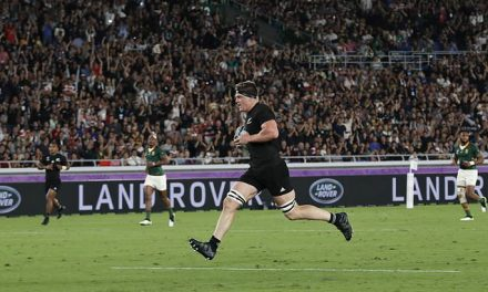 New Zealand 23-13 South Africa: All Blacks survive Springboks comeback in Rugby World Cup opener | Daily Mail Online