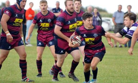 RUGBY UNION: Early lead thrown away by Spalding in second half