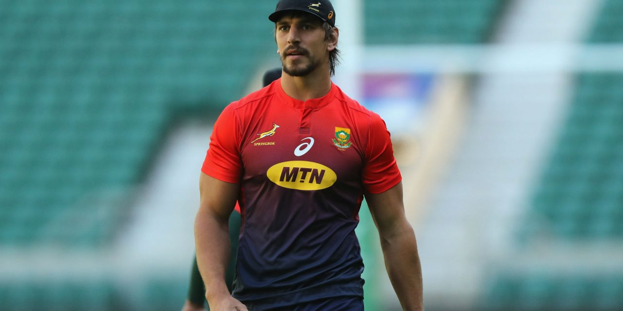 Erasmus addresses the impact the Etzebeth assault allegations have had on the Springboks