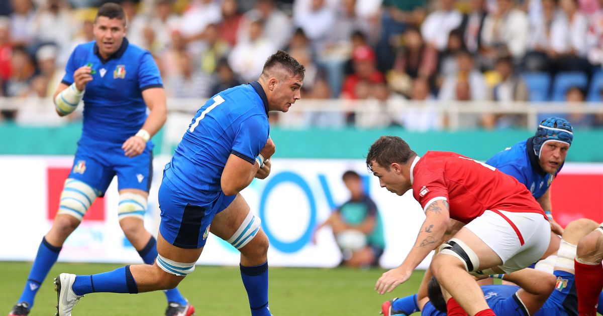 South Africa v Italy: Jake Polledri surpasses All Blacks legend with another Rugby World Cup record – Gloucestershire Live