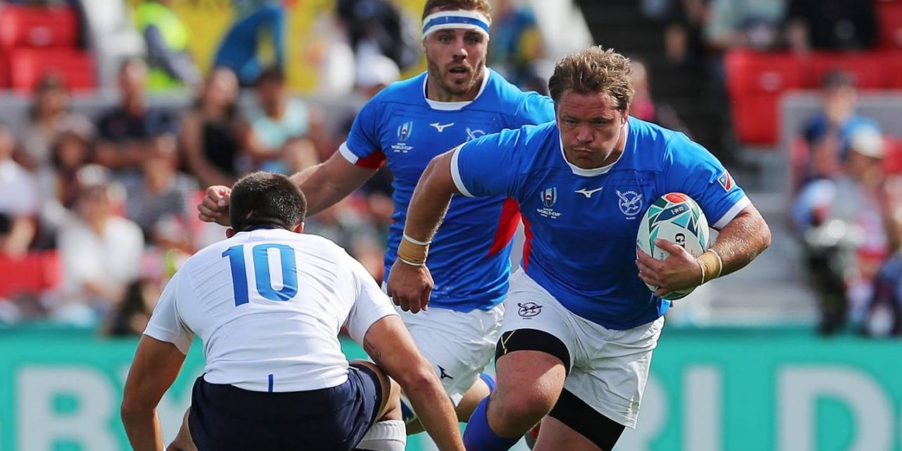 All Blacks v Namibia: Minnows keen to test themselves against defending champions   Stuff.co.nz