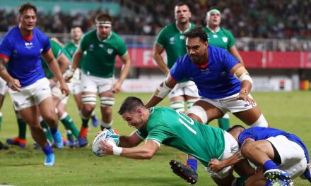 Ireland v Samoa: Dominant Irish book likely Rugby World Cup date with All Blacks   Stuff.co.nz
