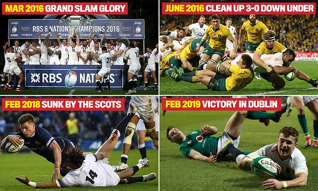 Inside last four years of English rugby… stars reveal secrets of quest for Rugby World Cup glory | Daily Mail Online