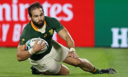 South Africa 66-7 Canada: Cobus Reinach hat-trick helps Springboks into World Cup quarter-final | Daily Mail Online