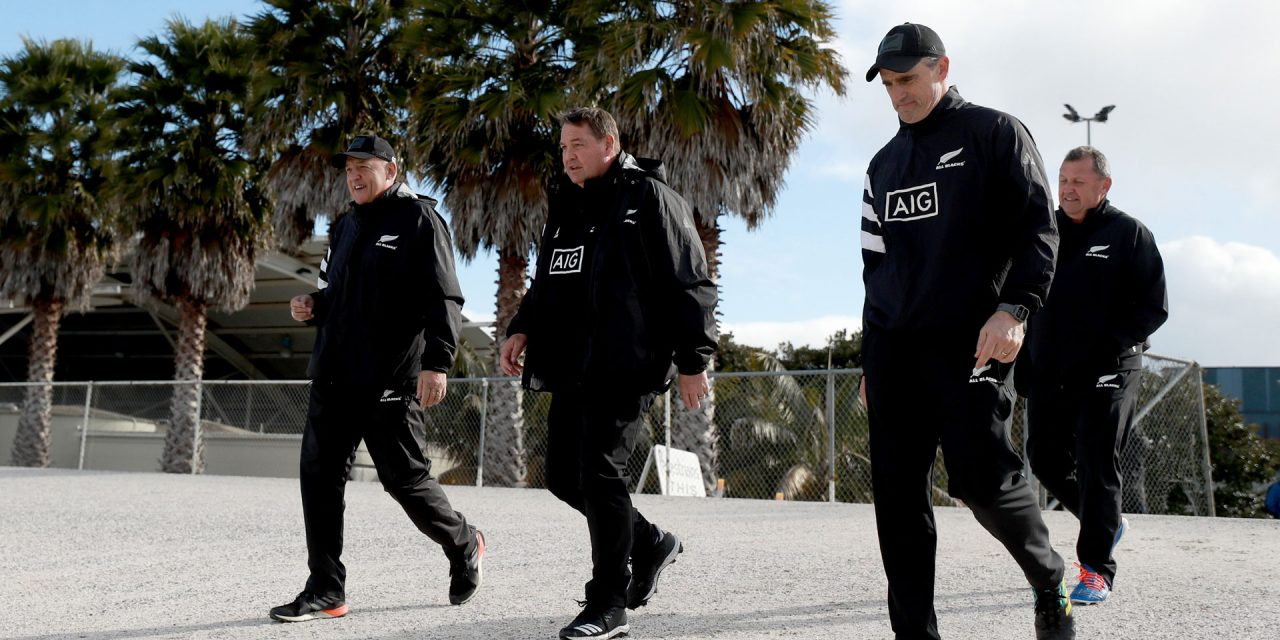Who is primed to take over from Steve Hansen as All Blacks coach?