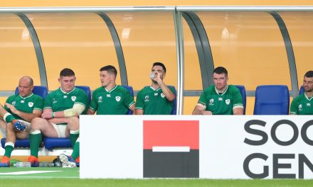 Ireland's four-year 'improvement' was the All Blacks taking seven minutes longer than Argentina to go 17 early points up