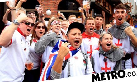 England rugby fans jubilant after stunning 19-7 semi-final win over New Zealand