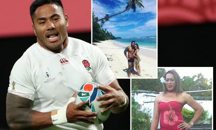 Manu Tuilagi was an illegal immigrant before he became an English rugby hero and supports cross-dressing brother Julia