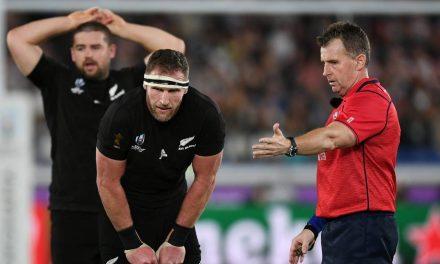 Nigel Owens says gesture from All Blacks, England captains drew a tear | Stuff.co.nz