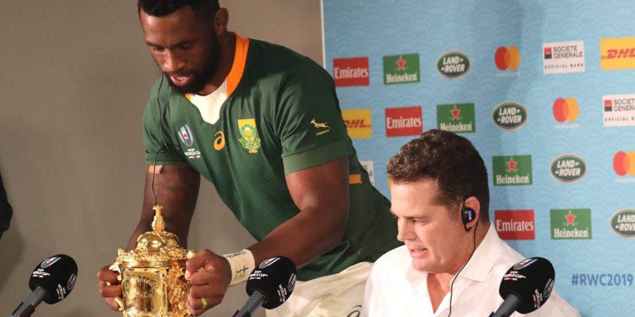 Rugby World Cup final 2019: Springboks coach Rassie Erasmus says pressure is 'having a relative murdered'  | Stuff.co.nz