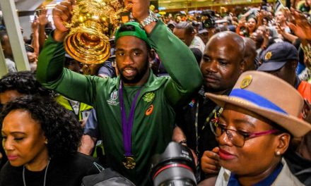 Rugby World Cup 2019: Triumphant Springboks return home to rapturous celebrations | Stuff.co.nz