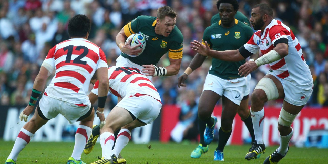 JDV: Japan 2015 victim has a word of warning for the Springboks