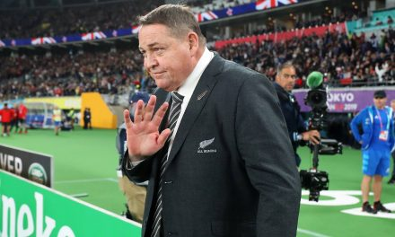 Steve Hansen overcome with emotion by crowd gesture as All Blacks career comes to a close