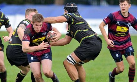 RUGBY UNION: Town find successful mix of young and old