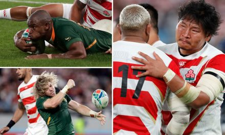Japan 3-26 South Africa rugby LIVE RESULT: Springboks leave Brave Blossoms in tears with 21 second half points