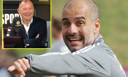 Eddie Jones hails 'unbelievable' Pep Guardiola as England rugby head coach sheds more light on his visit to Bayern Munich training session