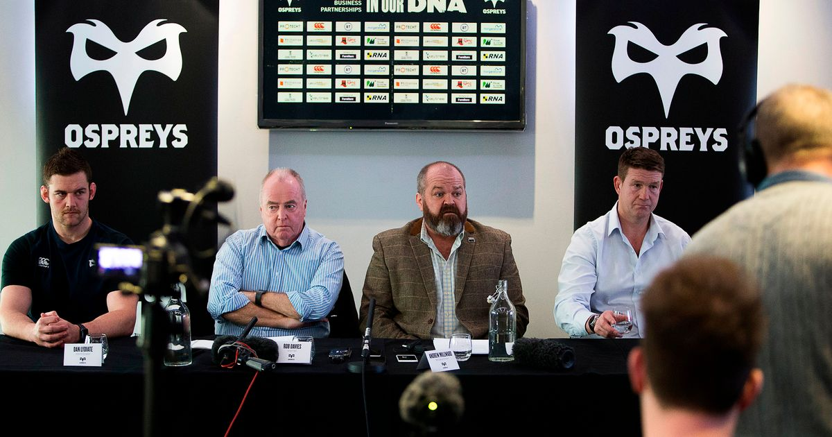 The full transcript of the tense Ospreys press conference as chairman rounds on 'fools' and MD blames media for PRO14 event farce – Wales Online