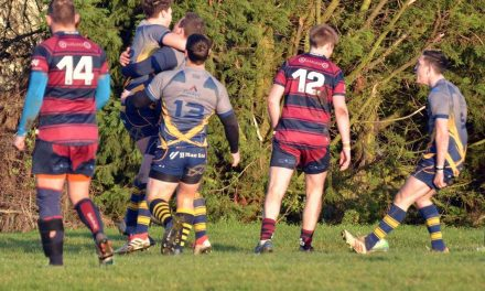 RUGBY UNION – MATCH REPORT AND PHOTO GALLERY: Bourne take A151 derby bragging rights after deserved home win