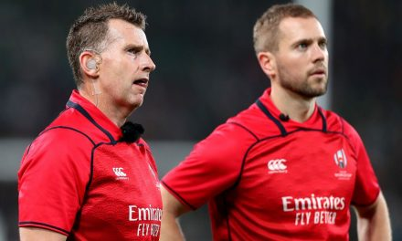 The referees for England and Wales' Rugby World Cup semi-finals