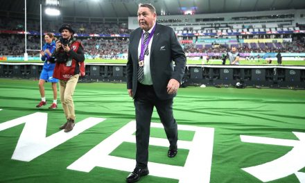 Steve Hansen has some advice for his All Blacks coaching successor
