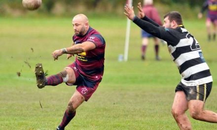 RUGBY UNION: Spalding in confident mood before Vase tie