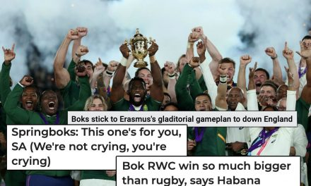 How South Africa media reacted to the Springboks Rugby World Cup final win