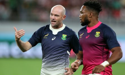 New Springboks coach announcement accompanied by backroom reshuffle