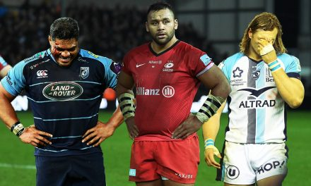 Size differences in No8s across the Premiership, PRO14 and Top 14