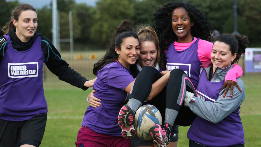 Try Rugby For Free At England Rugby's Warrior Camps