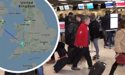 Storm Ciara leaves hundreds of Wales rugby fans stranded in Dublin as flights cancelled and plane forced to divert to Manchester – Wales Online
