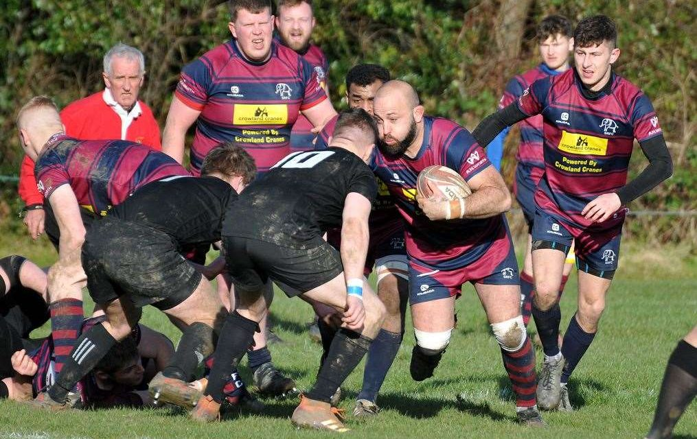 RUGBY UNION: 'Stand up and be counted', demands Town player-coach Sharman