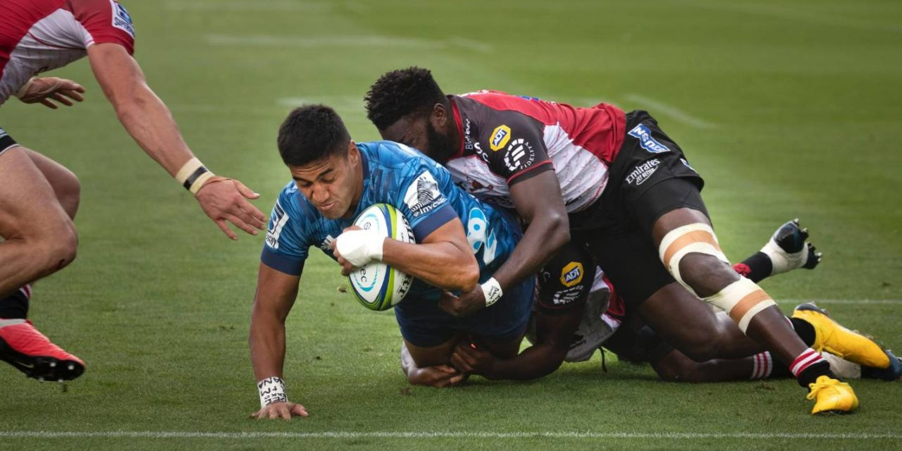 Super Rugby: Surging Blues make it four on the bounce with first home victory  | Stuff.co.nz