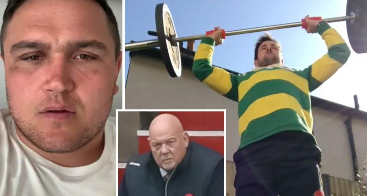 England rugby stars back NHS fundraiser amid coronavirus crisis as Barnes aim to lift 1million kg after club legend dies