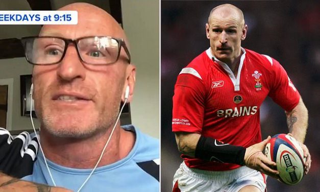 Wales rugby icon Gareth Thomas opens up on mental health struggles during coronavirus lockdown | Daily Mail Online