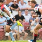 Waratahs put down early marker by smashing Rebels in Super Rugby trial