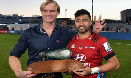 Super Rugby Aotearoa trophy damaged in Crusaders celebrations  | Stuff.co.nz